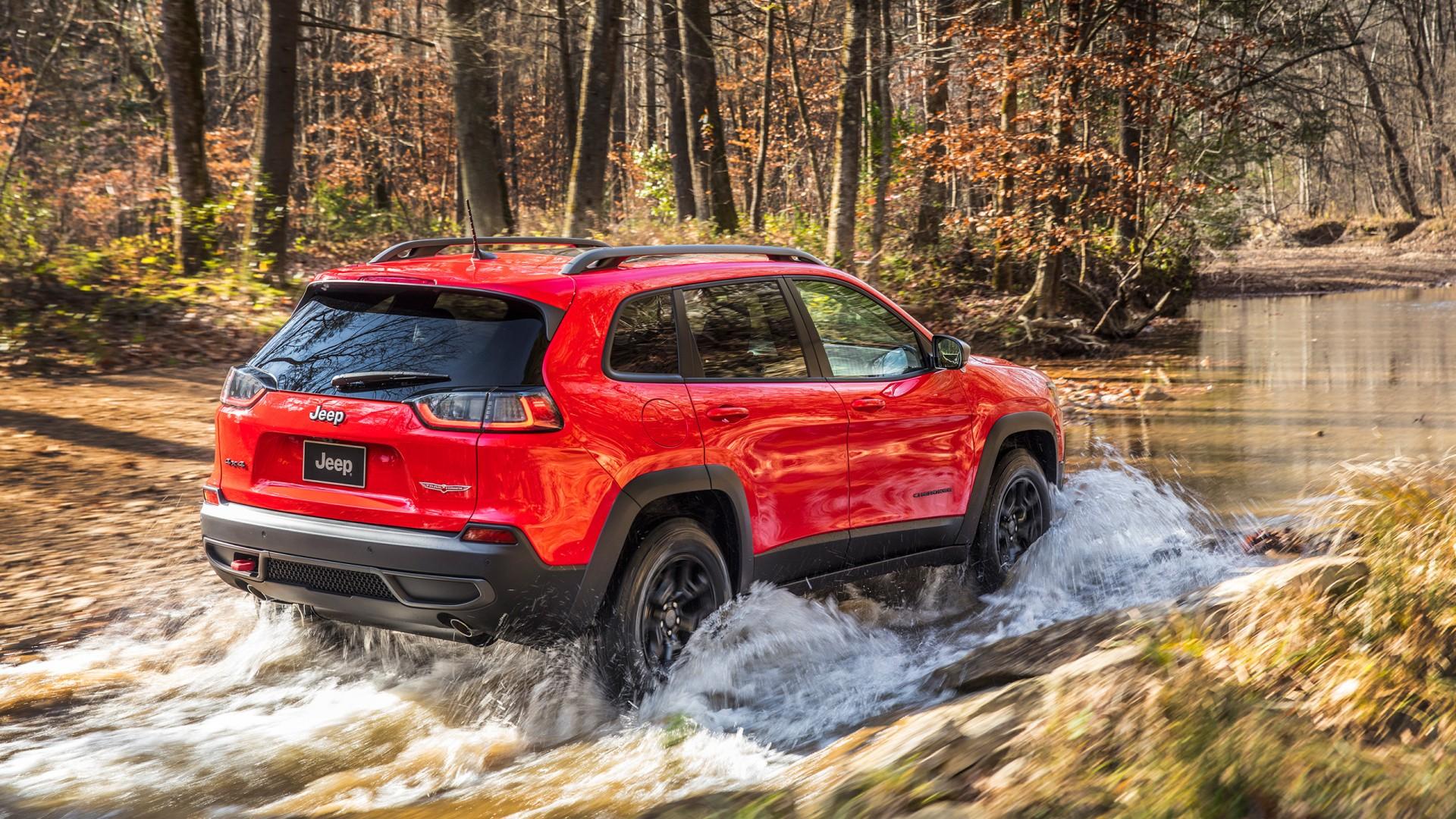 2019 Jeep Cherokee Trailhawk 4 Wallpaper | HD Car ...