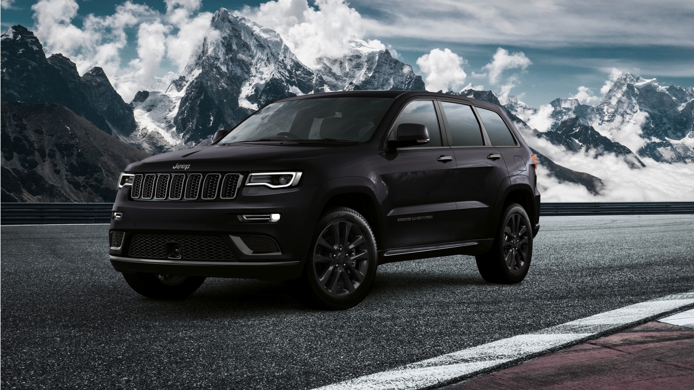 2019 Jeep Grand Cherokee S Wallpaper