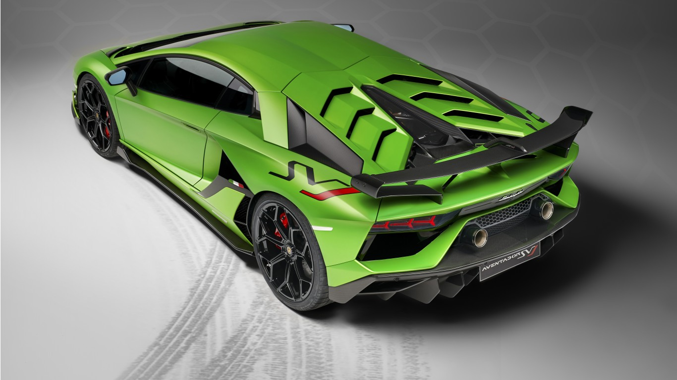 2019 Lamborghini Aventador Svj 4k 6 Wallpaper Hd Car