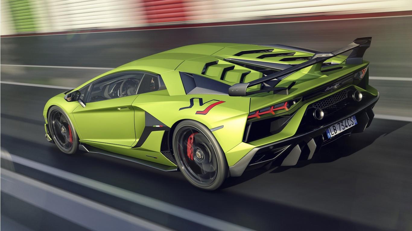 Logo Mercedes Prix >> 2019 Lamborghini Aventador SVJ 4K 8 Wallpaper   HD Car Wallpapers   ID #11027
