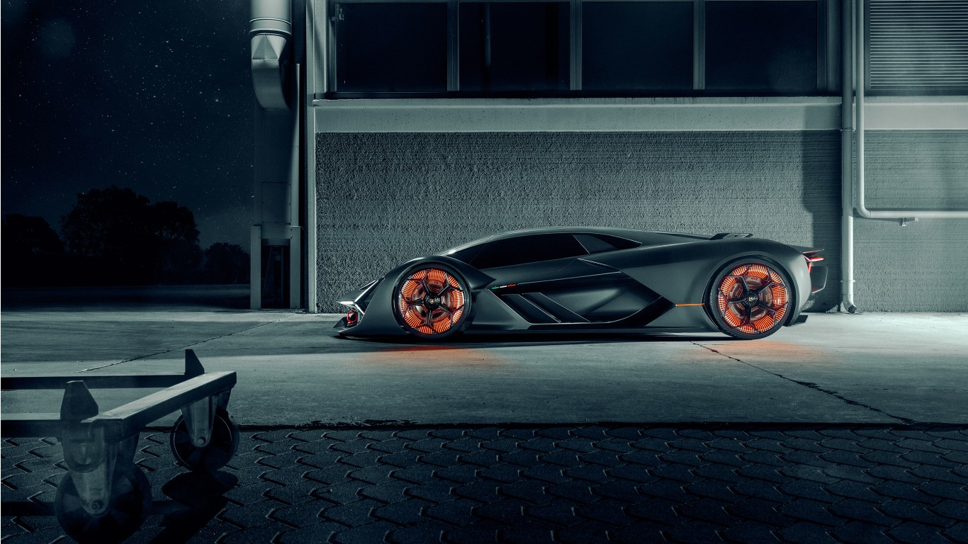 2019 Lamborghini Terzo Millennio 4k Wallpaper Hd Car