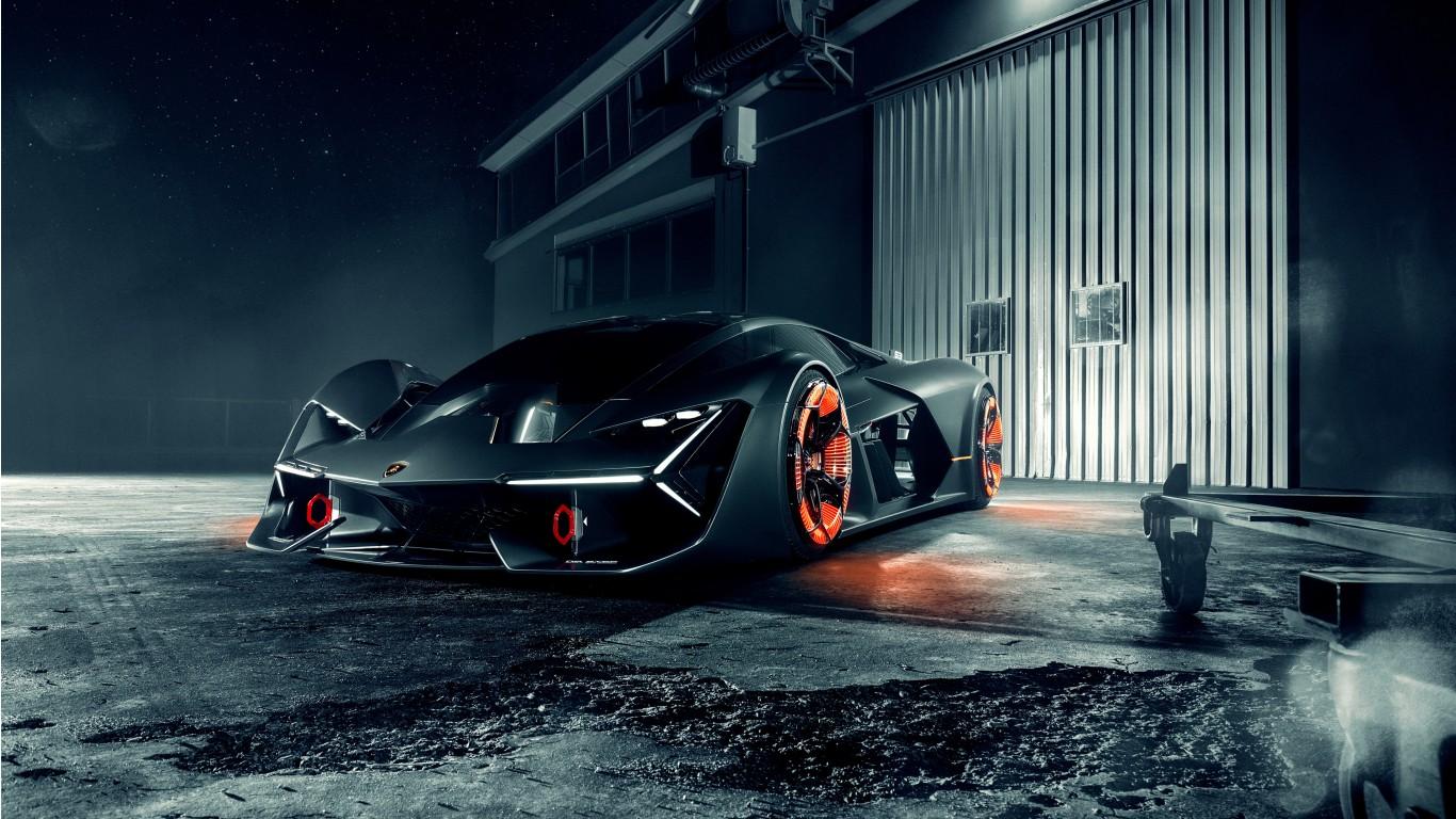 2019 Lamborghini Terzo Millennio 4K 2 Wallpaper | HD Car ...