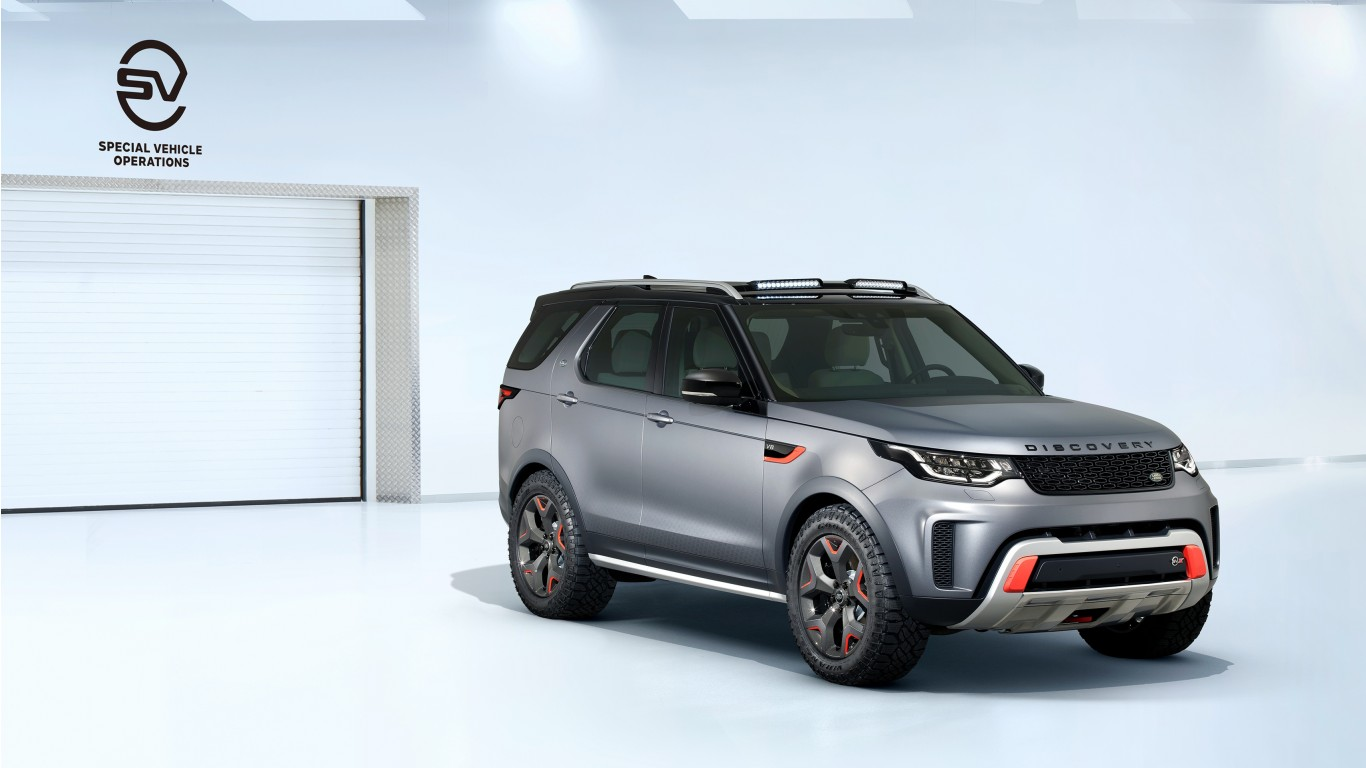 Land Rover Discovery Sport >> 2019 Land Rover Discovery SVX Wallpaper | HD Car Wallpapers | ID #8499