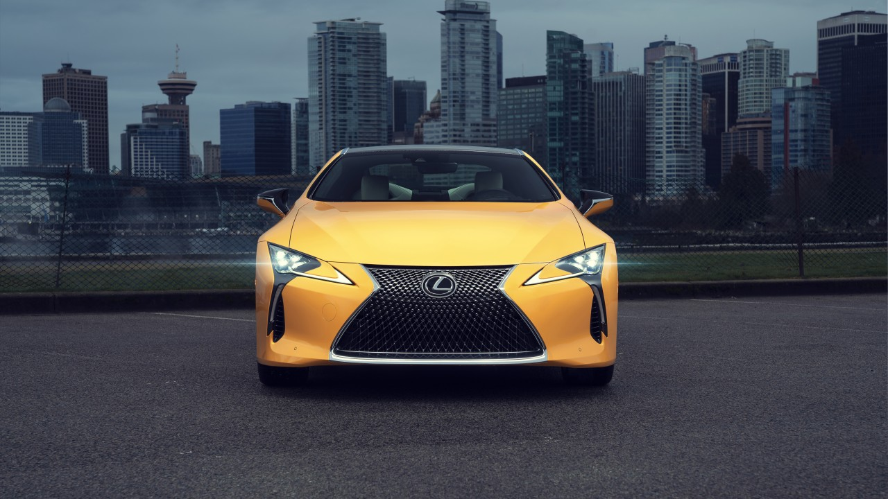 2019 Lexus LC 500 Inspiration Series 4K 5K Wallpaper