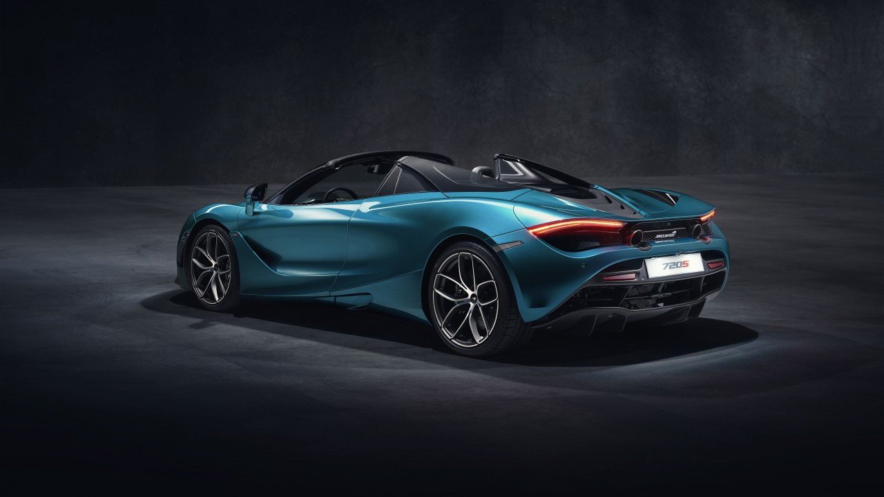 2019 McLaren 720S Spider 4K 3 Wallpaper