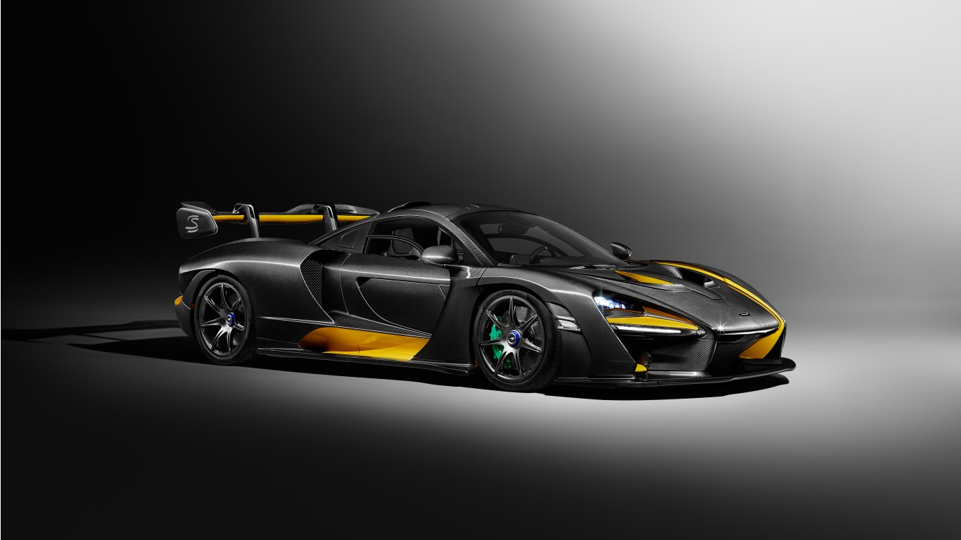 2019 McLaren Senna Carbon Theme by MSO 5K Wallpaper | HD Car Wallpapers | ID #9867