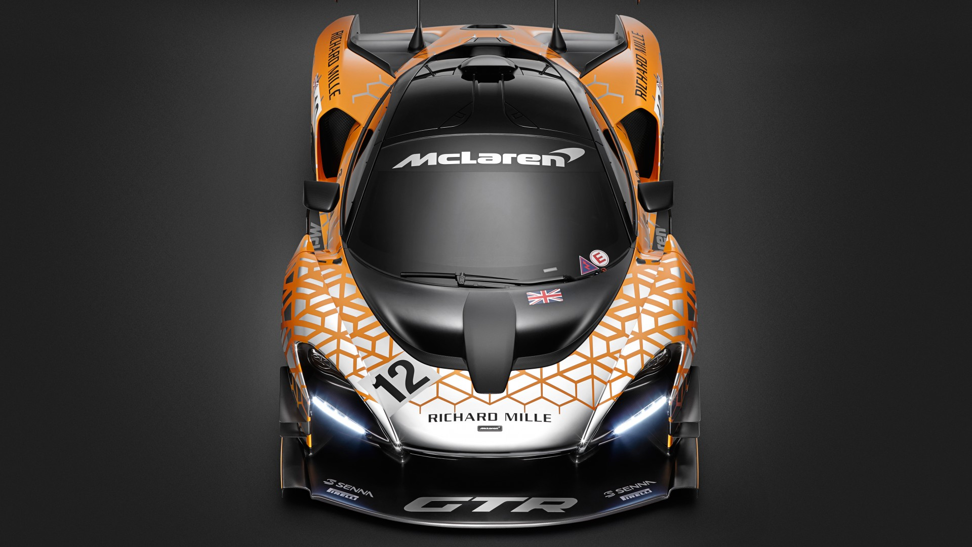 2019 McLaren Senna GTR Concept 5K 2 Wallpaper HD Car