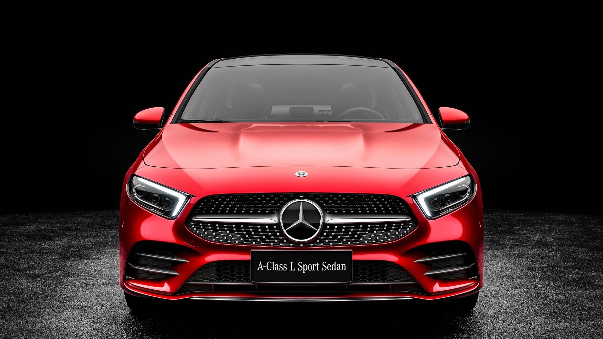2019 Mercedes Benz A200 L Sport Sedan 4k 3 Wallpaper Hd Car Wallpapers Id 10305