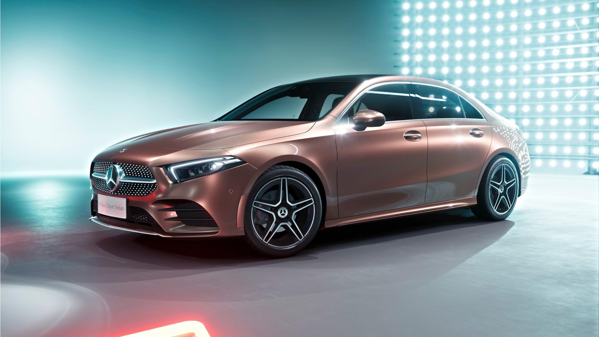 2019 Mercedes Benz A200 L Sport Sedan 4K 4 Wallpaper | HD Car Wallpapers | ID #10307
