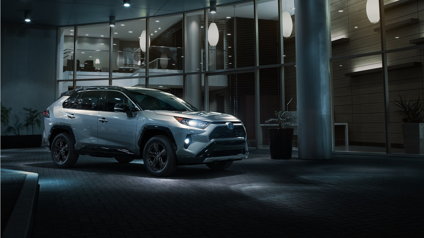 2019 Toyota RAV4 XSE Hybrid Wallpaper | HD Car Wallpapers | ID #10064