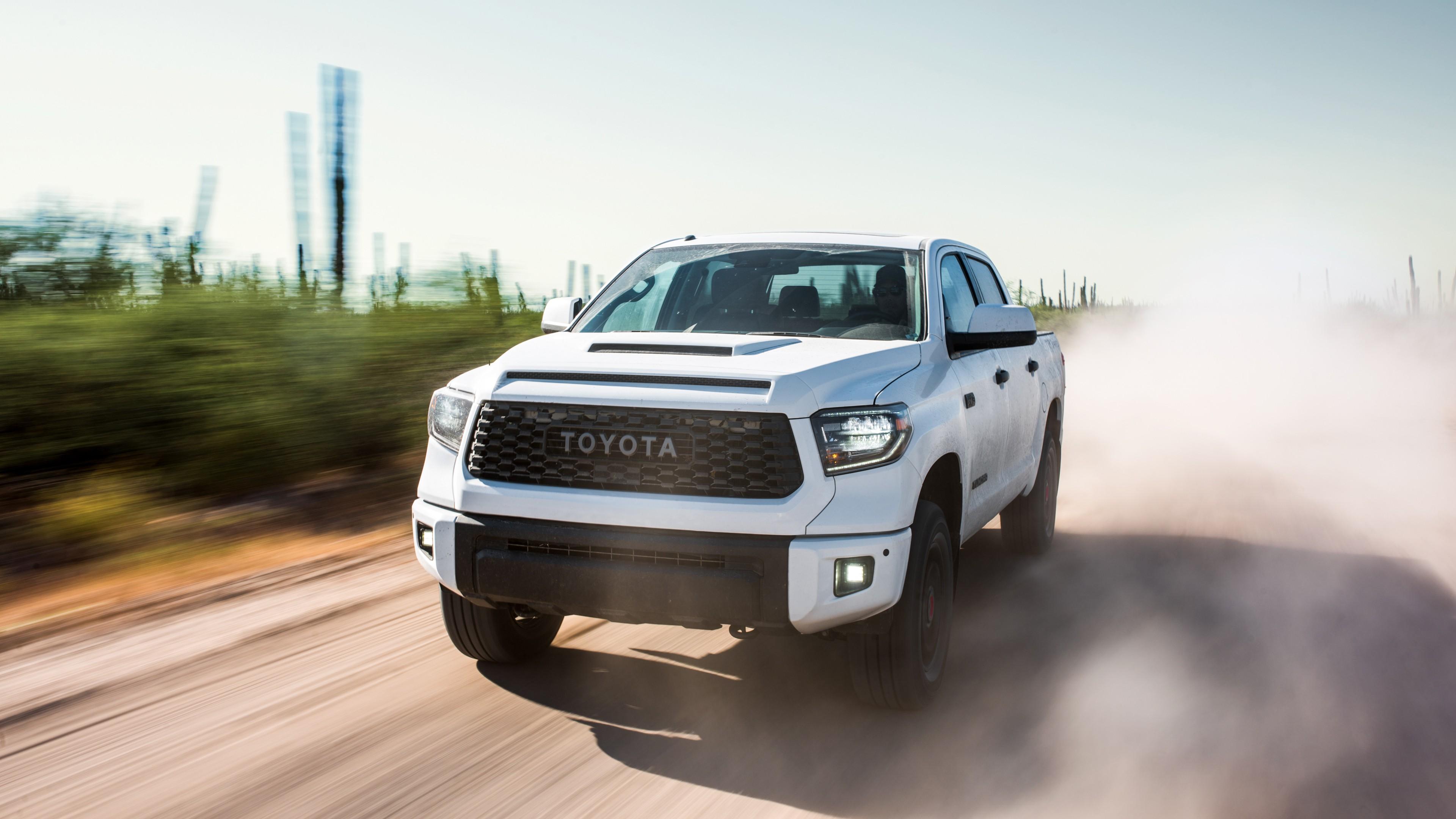 Tundra Trd Pro >> 2019 Toyota Tundra TRD Pro CrewMax 4K Wallpaper | HD Car Wallpapers | ID #9574