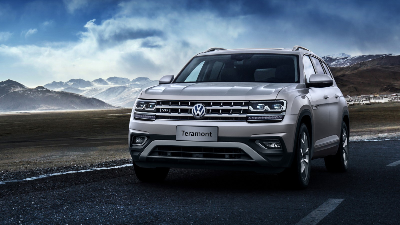 2019 Volkswagen Teramont Wallpaper