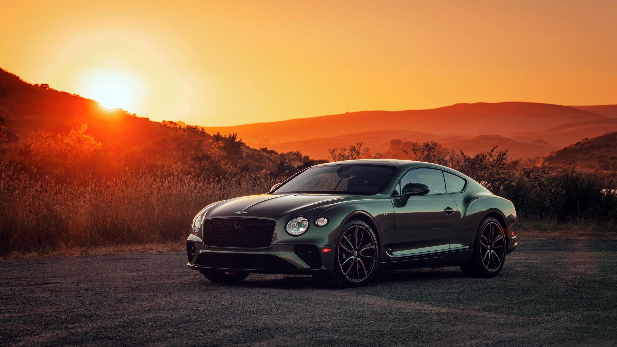 2020 Bentley Continental Gt V8 4k Wallpaper Hd Car