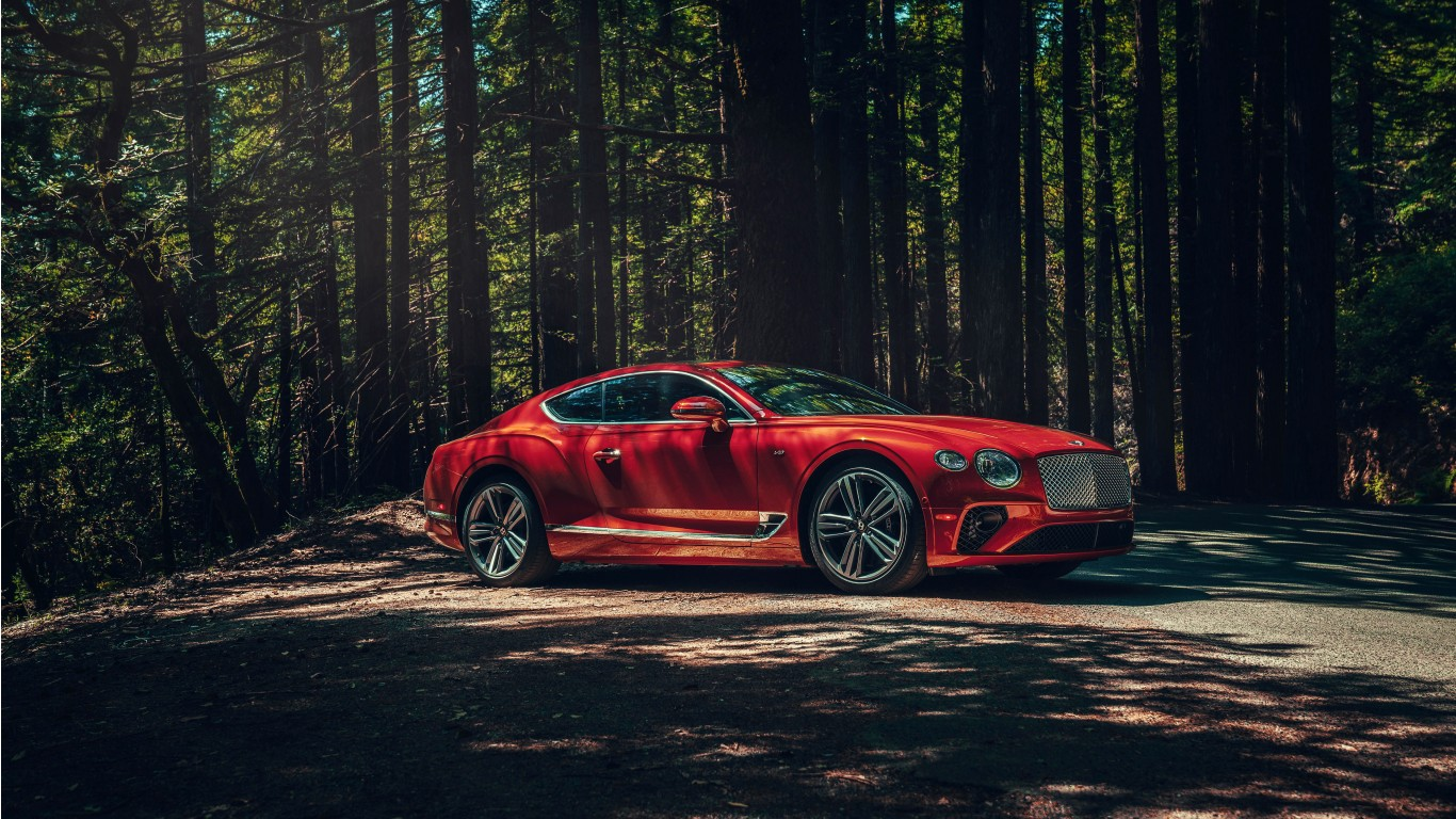 2020 Bentley Continental GT V8 4K 2 Wallpaper   HD Car ...