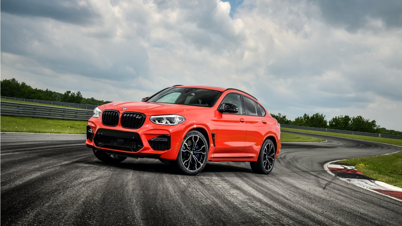 2020 BMW X4 M Competition 4K Wallpaper