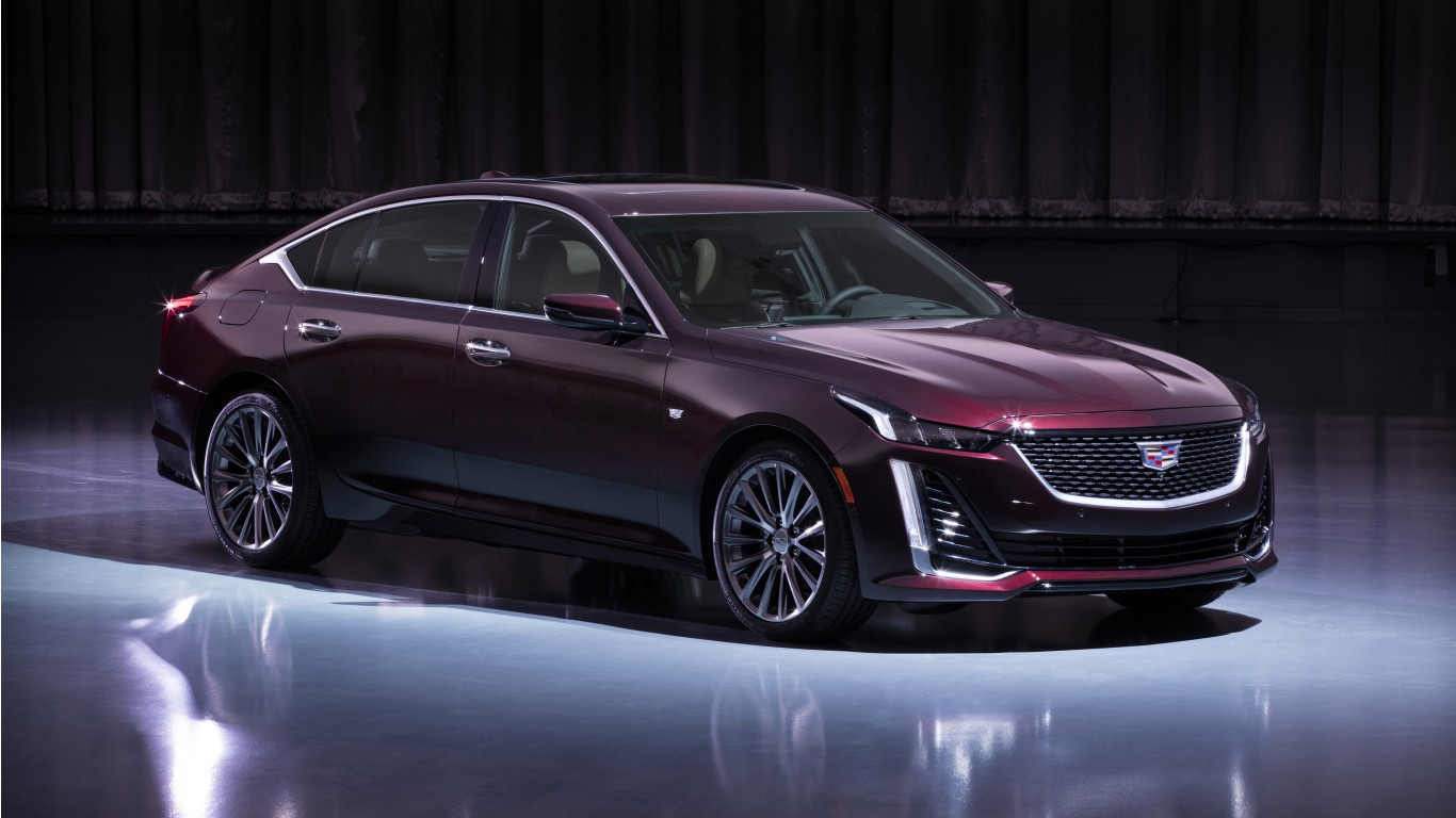 2020 Cadillac CT5 Premium Luxury 5K Wallpaper | HD Car Wallpapers | ID #12463