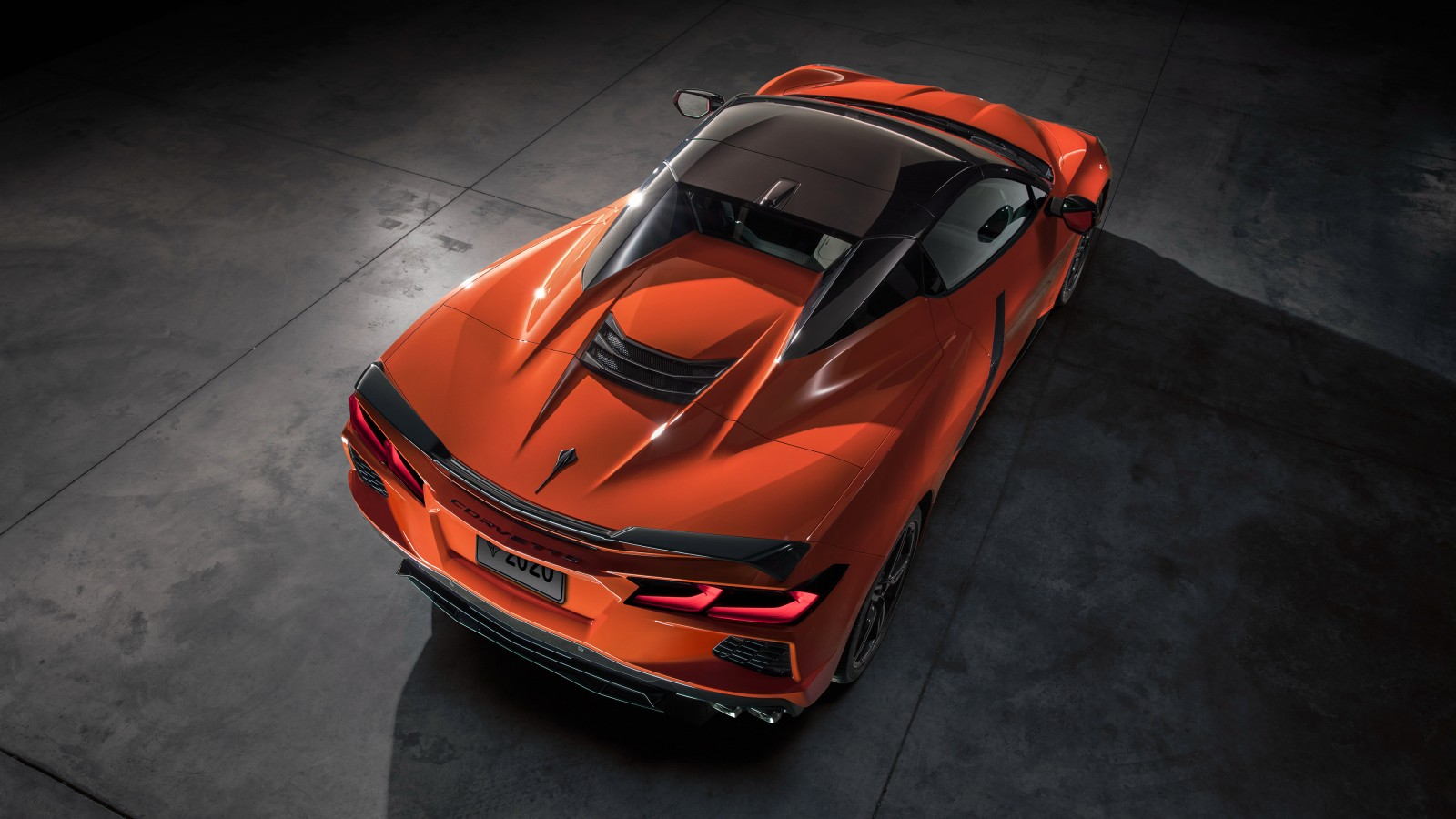 2020 Chevrolet Corvette Stingray Convertible Z51 4k 2