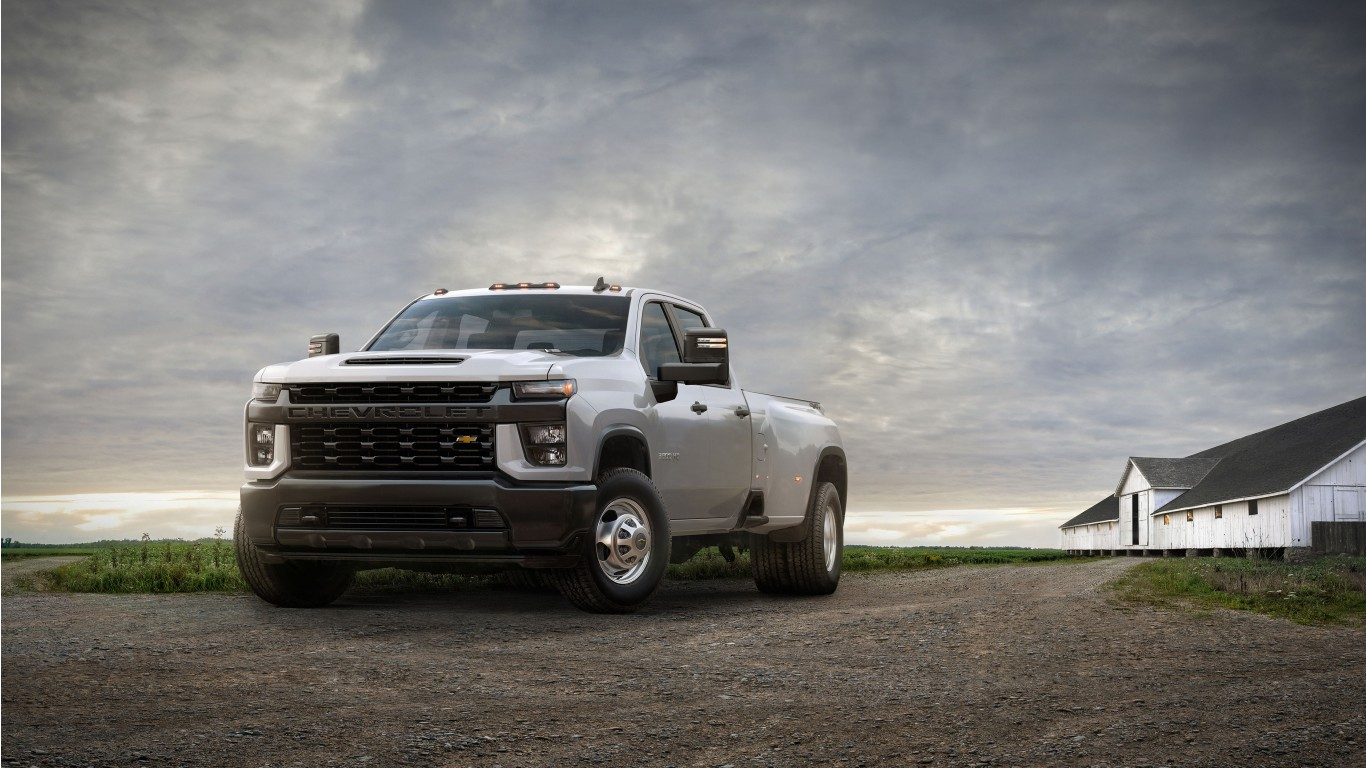 2020 Chevrolet Silverado 3500 HD DRW Work Truck 4K ...