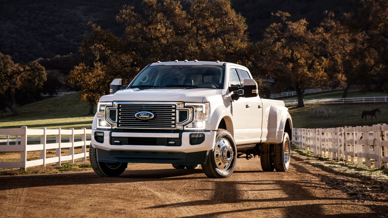 2020 Ford F 450 Super Duty Limited Crew Cab 4k Wallpaper
