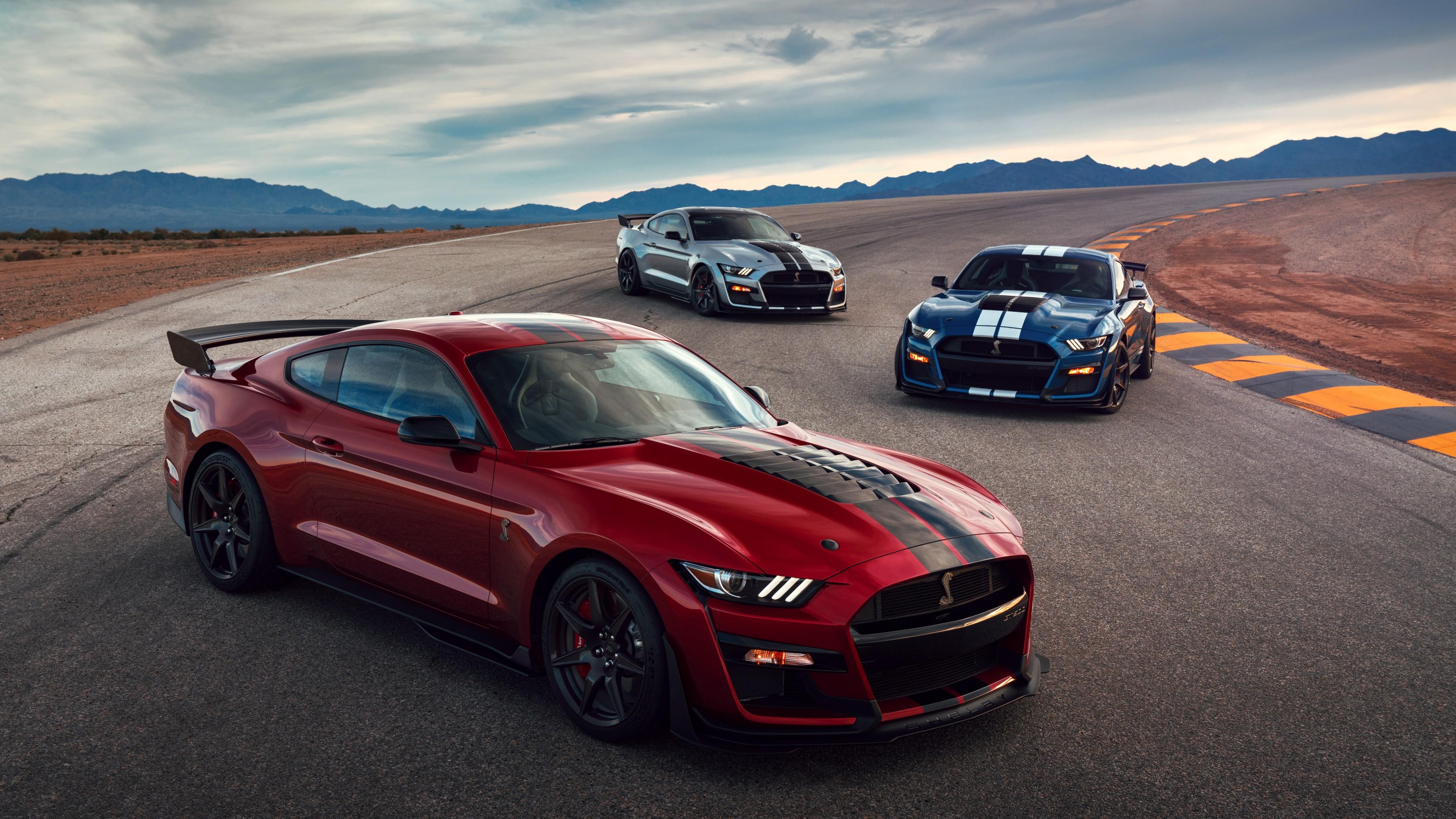 2020 Ford Mustang Shelby Gt500 4k 3 Wallpaper Hd Car