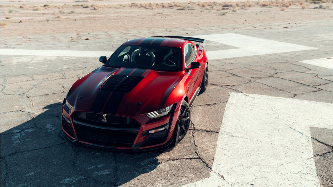 2020 Ford Mustang Shelby Gt500 4k 4 Wallpaper Hd Car