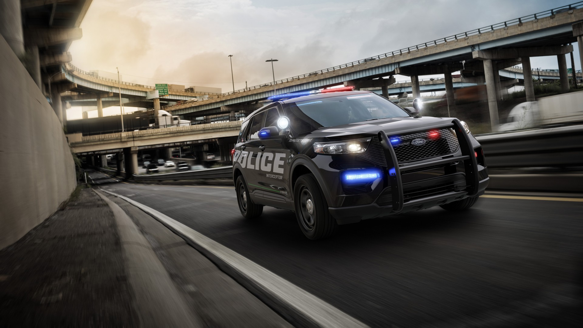 2020 Ford Police Interceptor Utility 4k Wallpaper Hd Car
