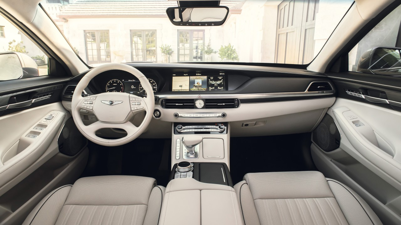 2020 genesis g90 4k interior wallpaper