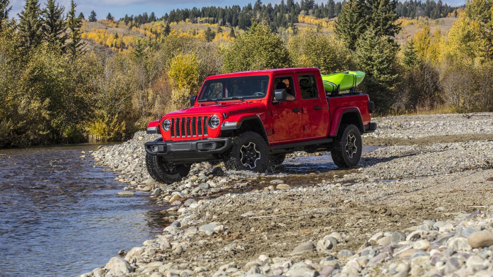 2020 Jeep Gladiator Rubicon 2 Wallpaper Hd Car