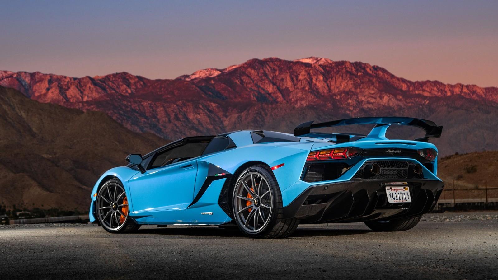 2020 Lamborghini Aventador SVJ Roadster 4K 5K 3 Wallpaper ...