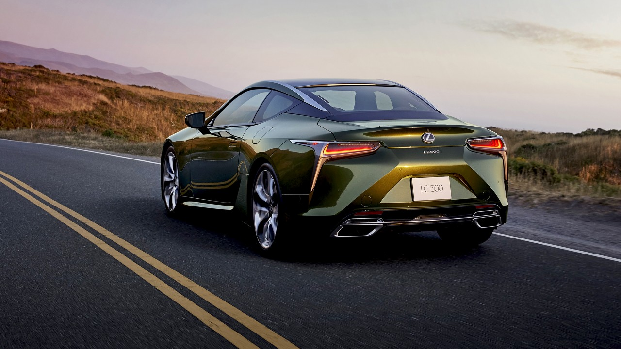 2020 Lexus LC 500 Inspiration Series 4K 2 Wallpaper