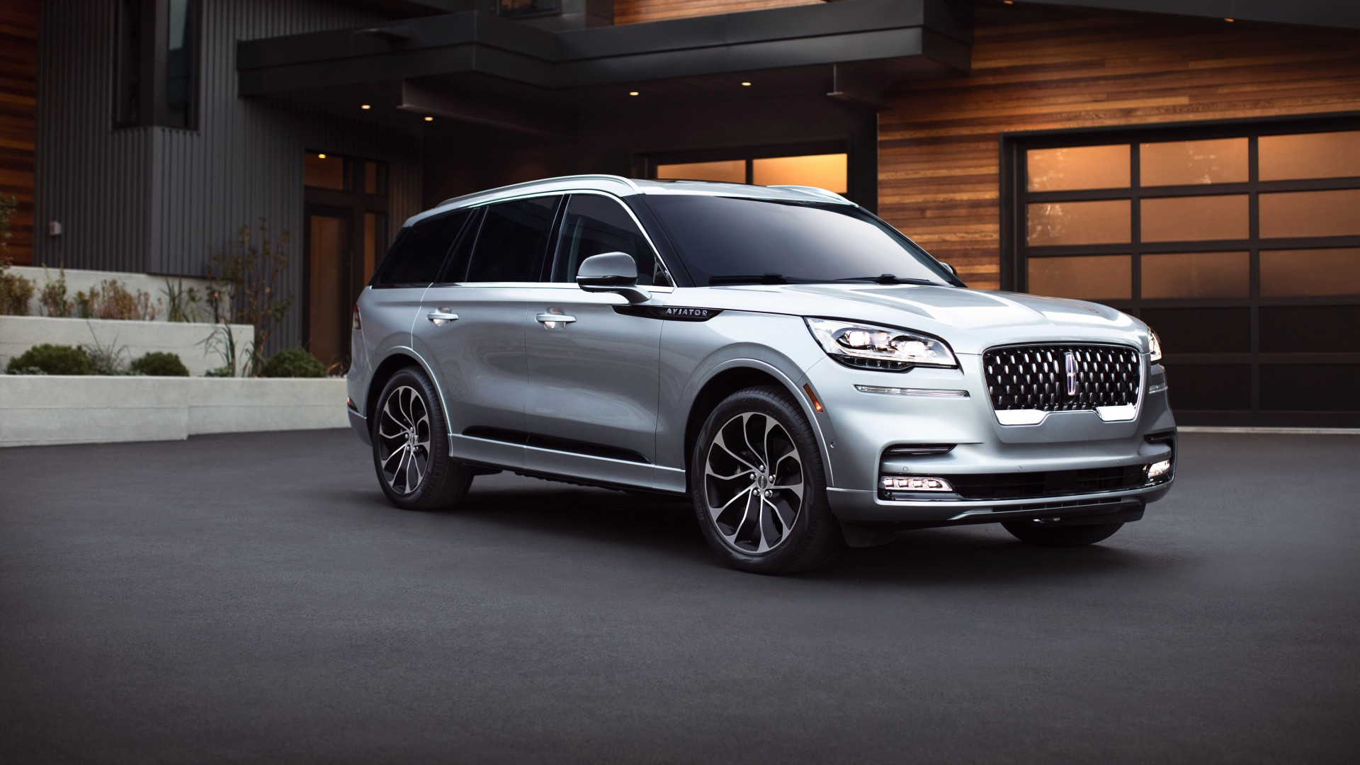 2020 lincoln aviator grand touring 4k wallpaper  hd car