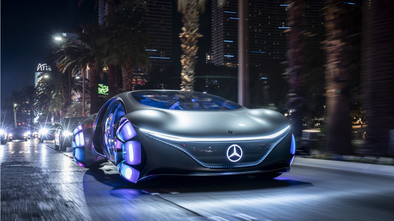 2020 Mercedes-Benz VISION AVTR 5K 4 Wallpaper   HD Car ...