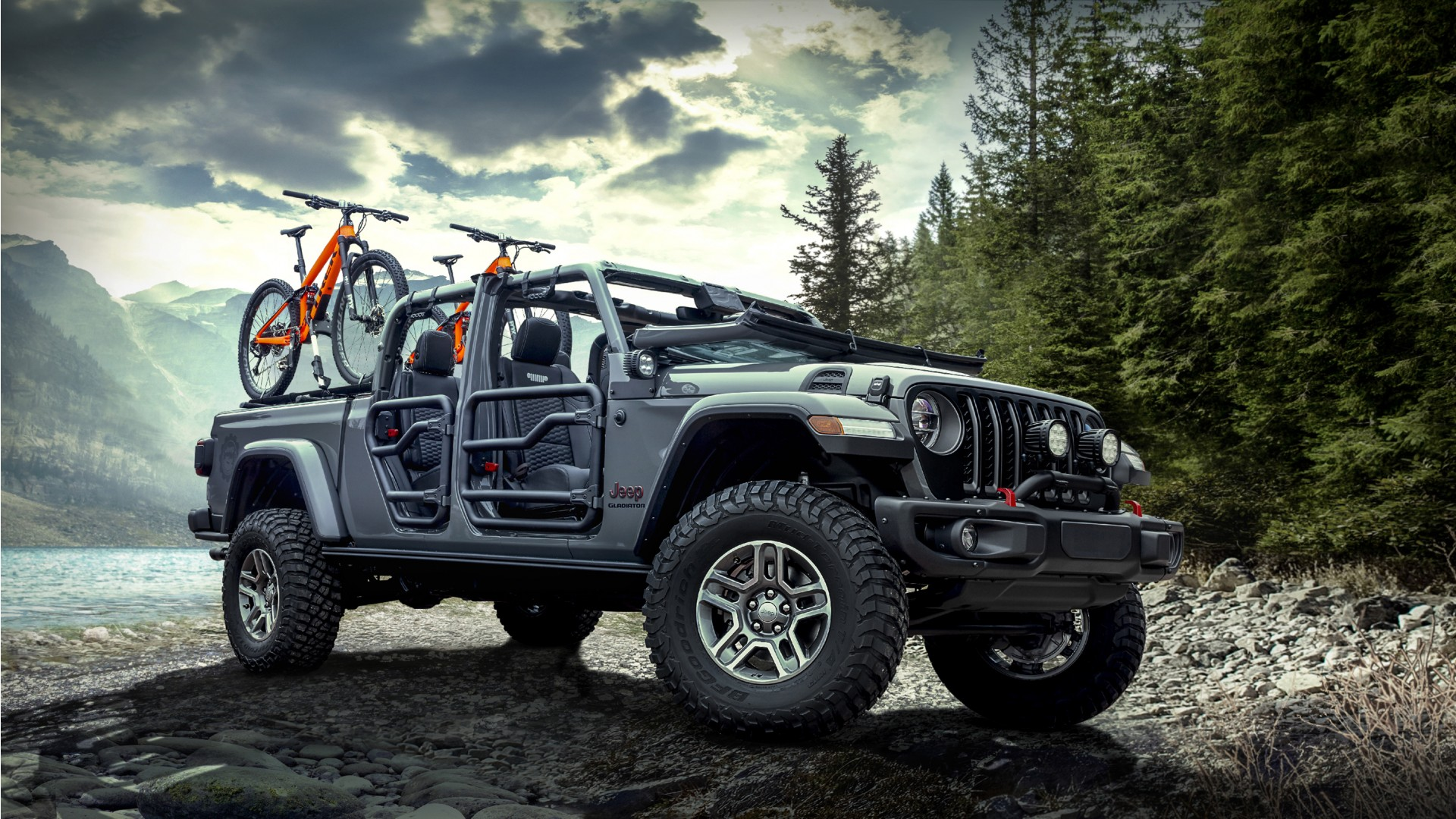 Jeep Wrangler Renegade >> 2020 Mopar Jeep Gladiator Rubicon Wallpaper | HD Car ...