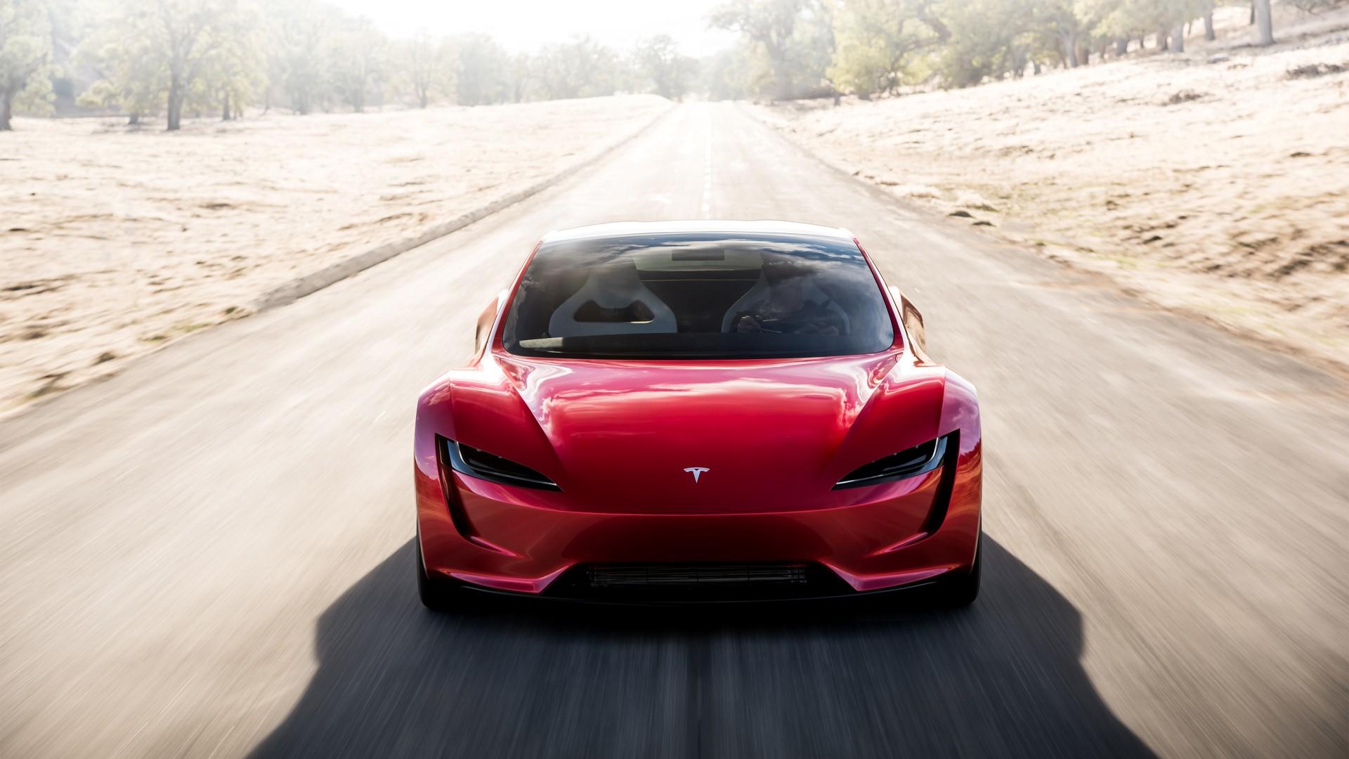 Tesla Roadster K  Wallpaper Hd Car Wallpapers Id