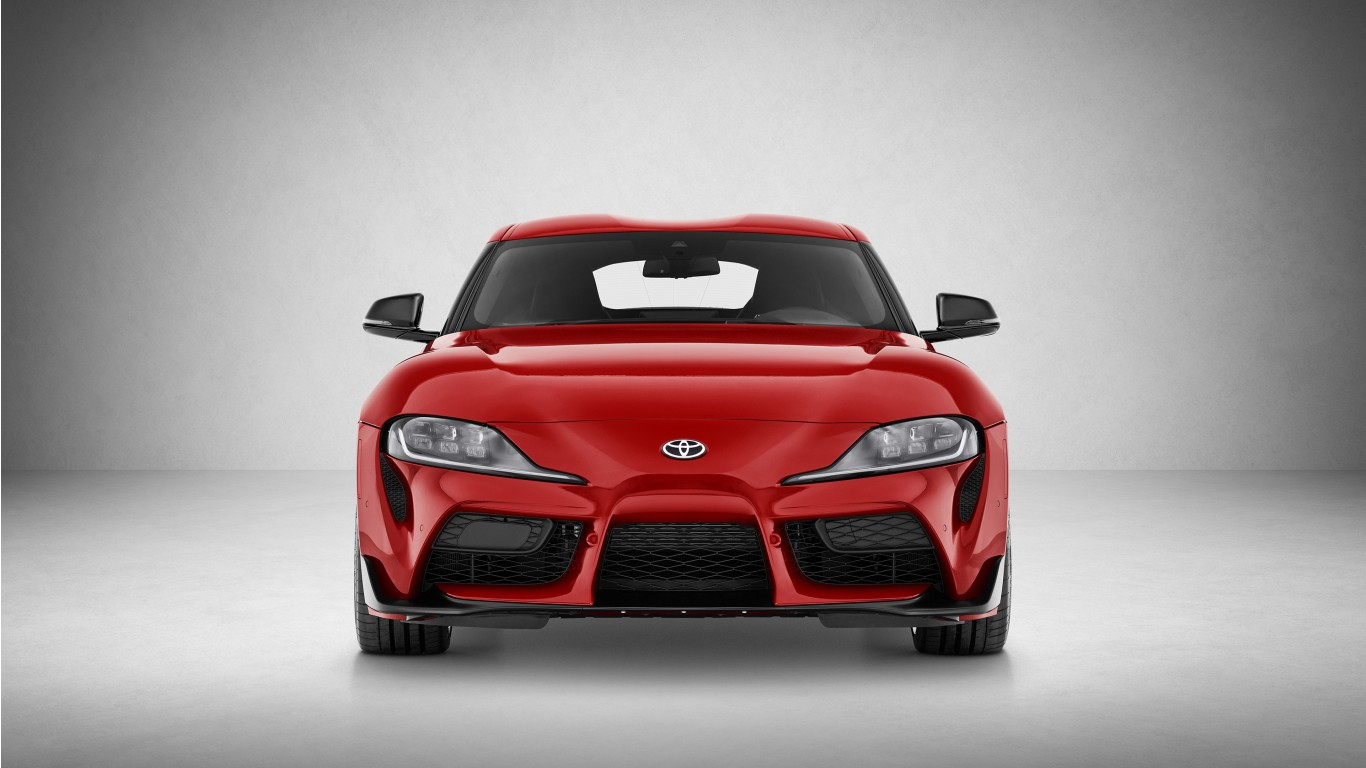 2020 Toyota GR Supra 4K 3 Wallpaper