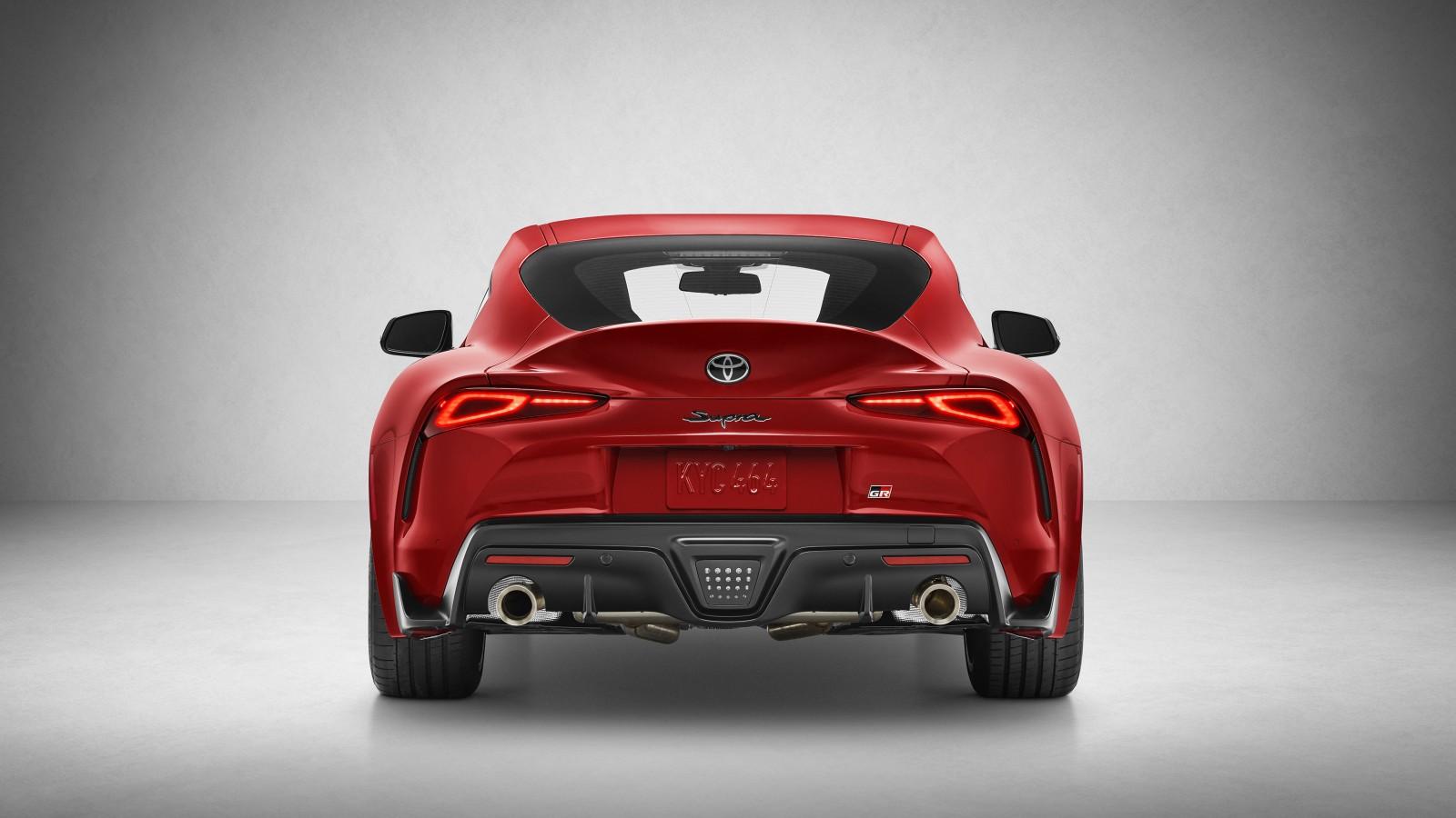 2020 Toyota GR Supra 4K 4 Wallpaper