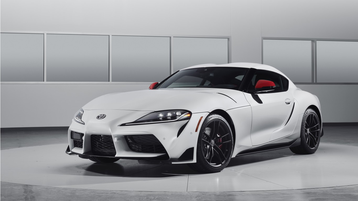 2020 Toyota Gr Supra Launch Edition 4k Wallpaper