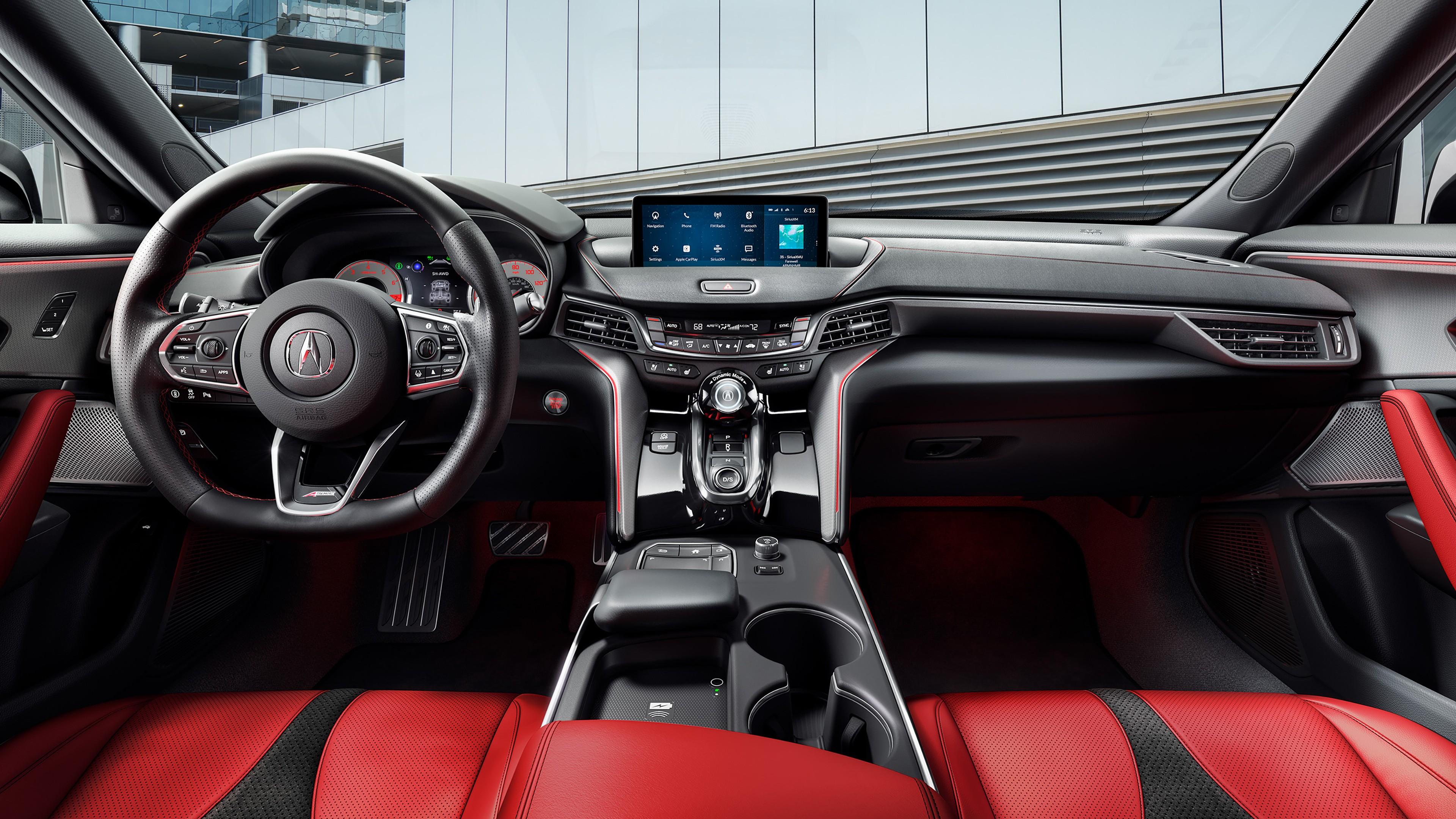 Acura Tlx Interior >> 2021 Acura TLX A-Spec Interior 4K Wallpaper   HD Car ...