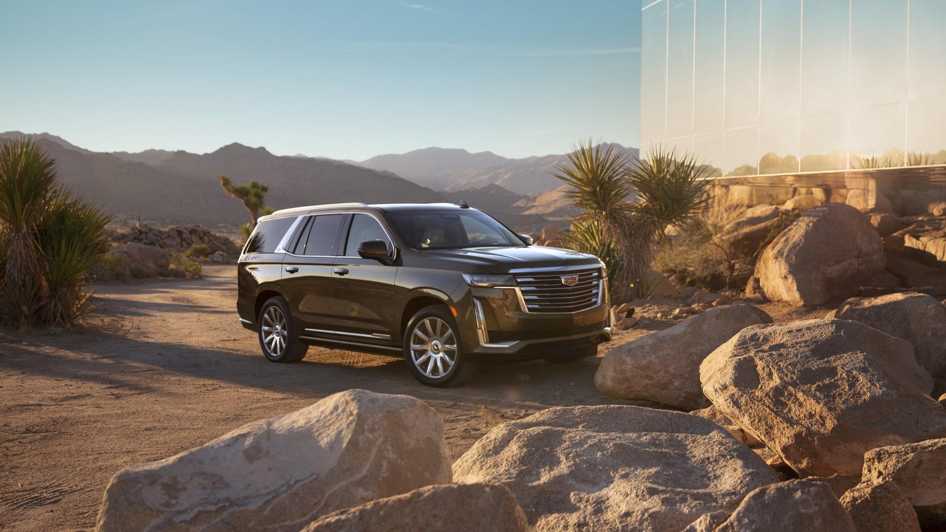 2021 Cadillac Escalade Platinum Luxury 4K Wallpaper   HD ...