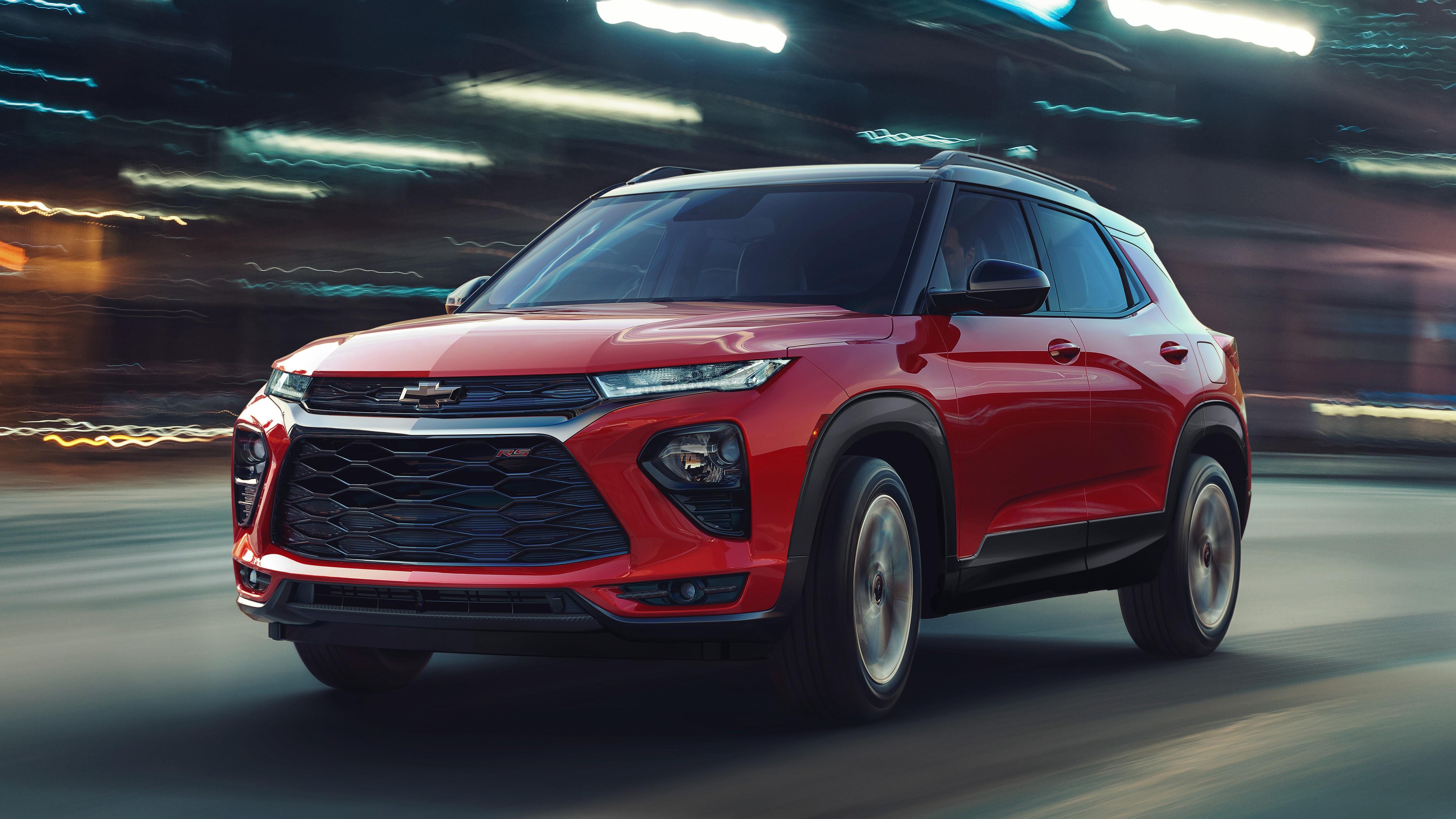 2021 chevrolet trailblazer rs 4k wallpaper   hd car