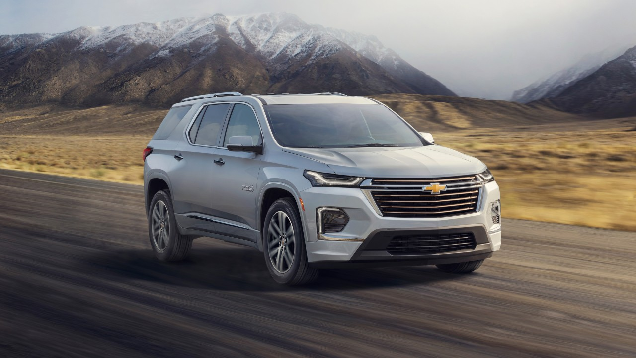 2021 chevrolet traverse high country 4k wallpaper  hd car
