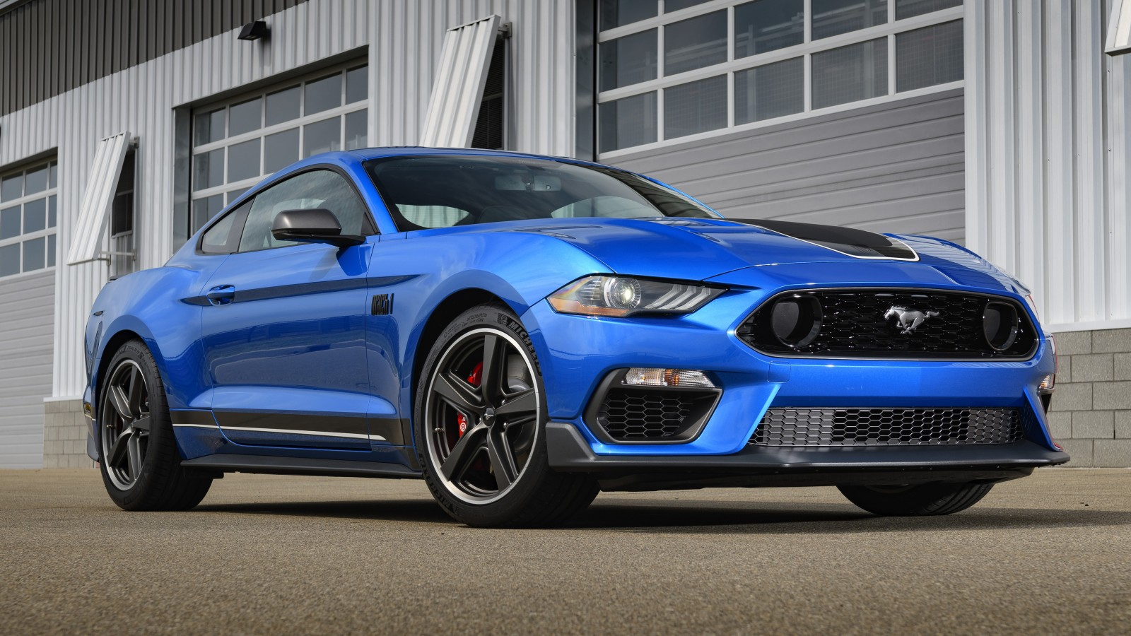 2021 Ford Mustang Mach 1 Images