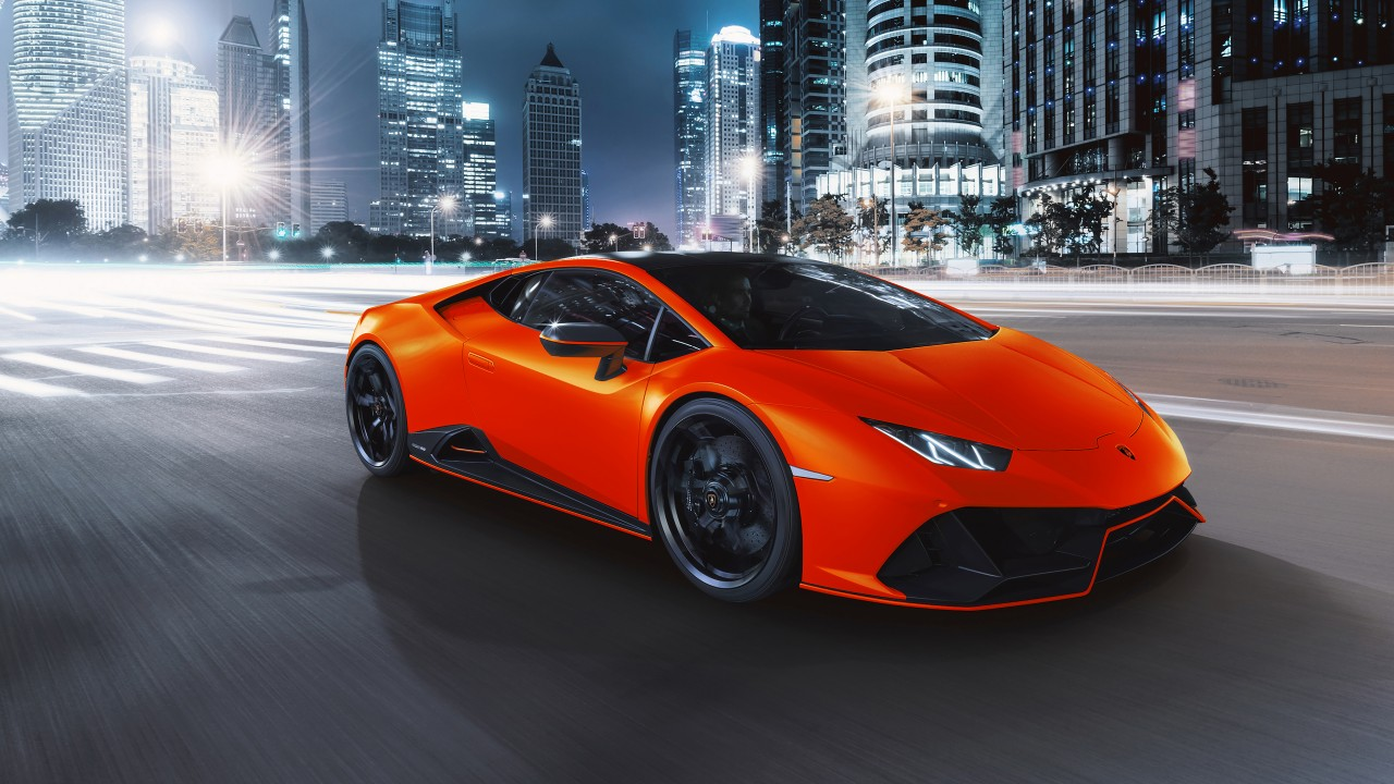 2021 Lamborghini Huracán EVO Fluo Capsule 4K 3 Wallpaper ...