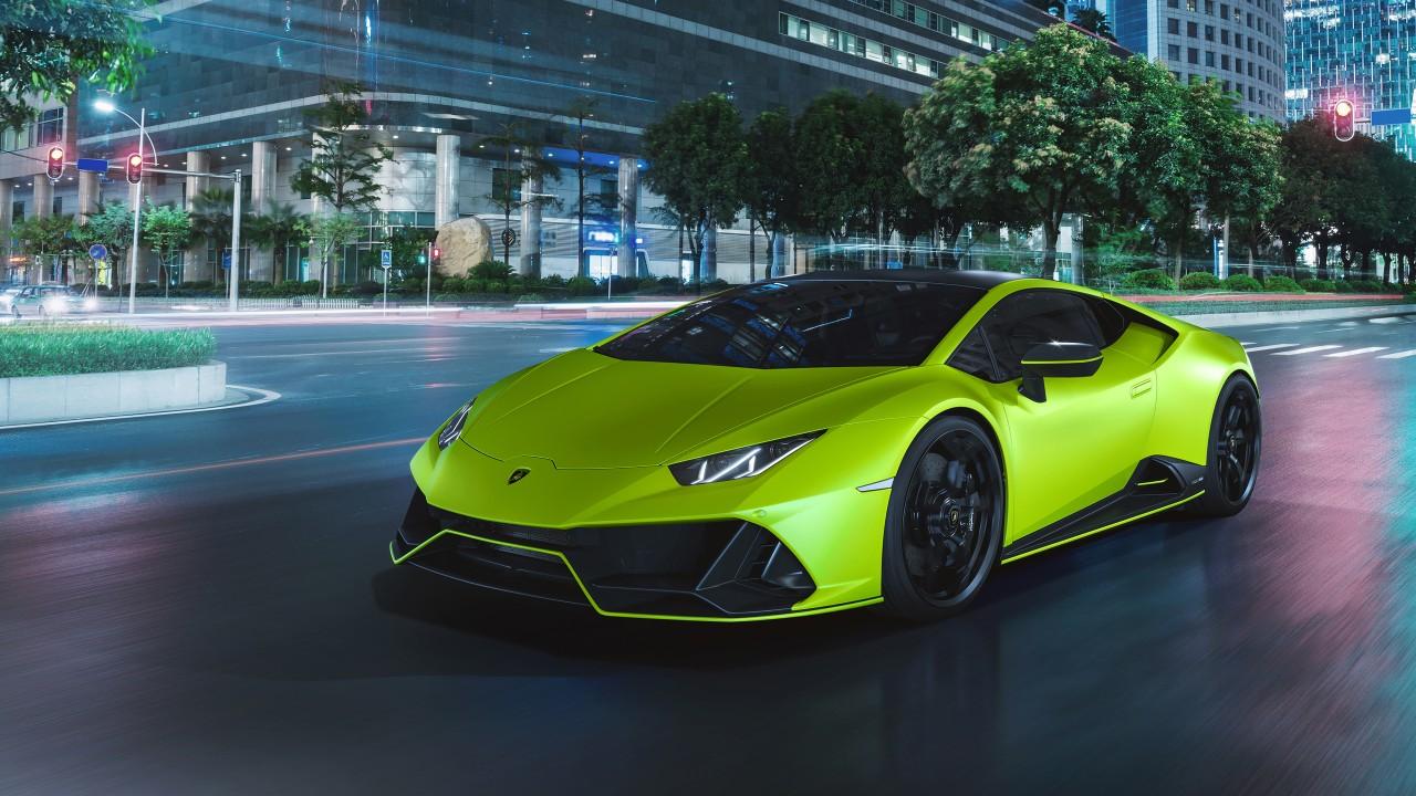 2021 Lamborghini Huracán EVO Fluo Capsule 4K 5 Wallpaper ...