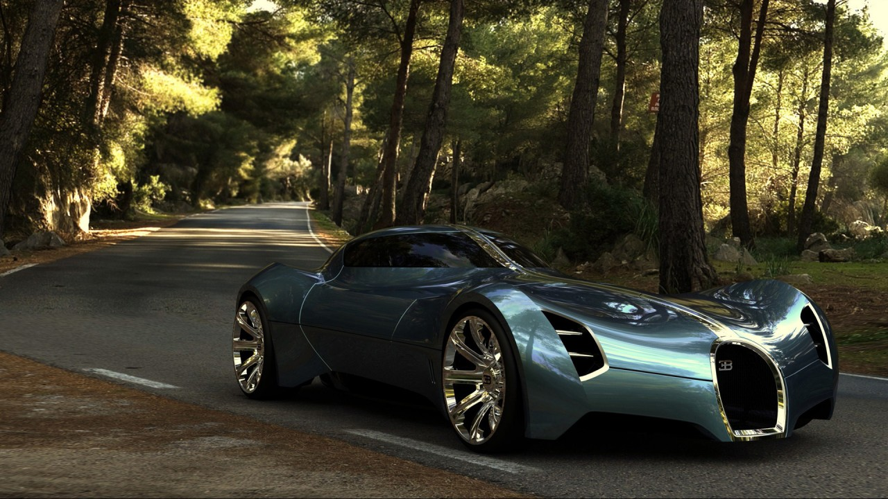 2025 Bugatti Aerolithe Concept Wallpaper | HD Car ...