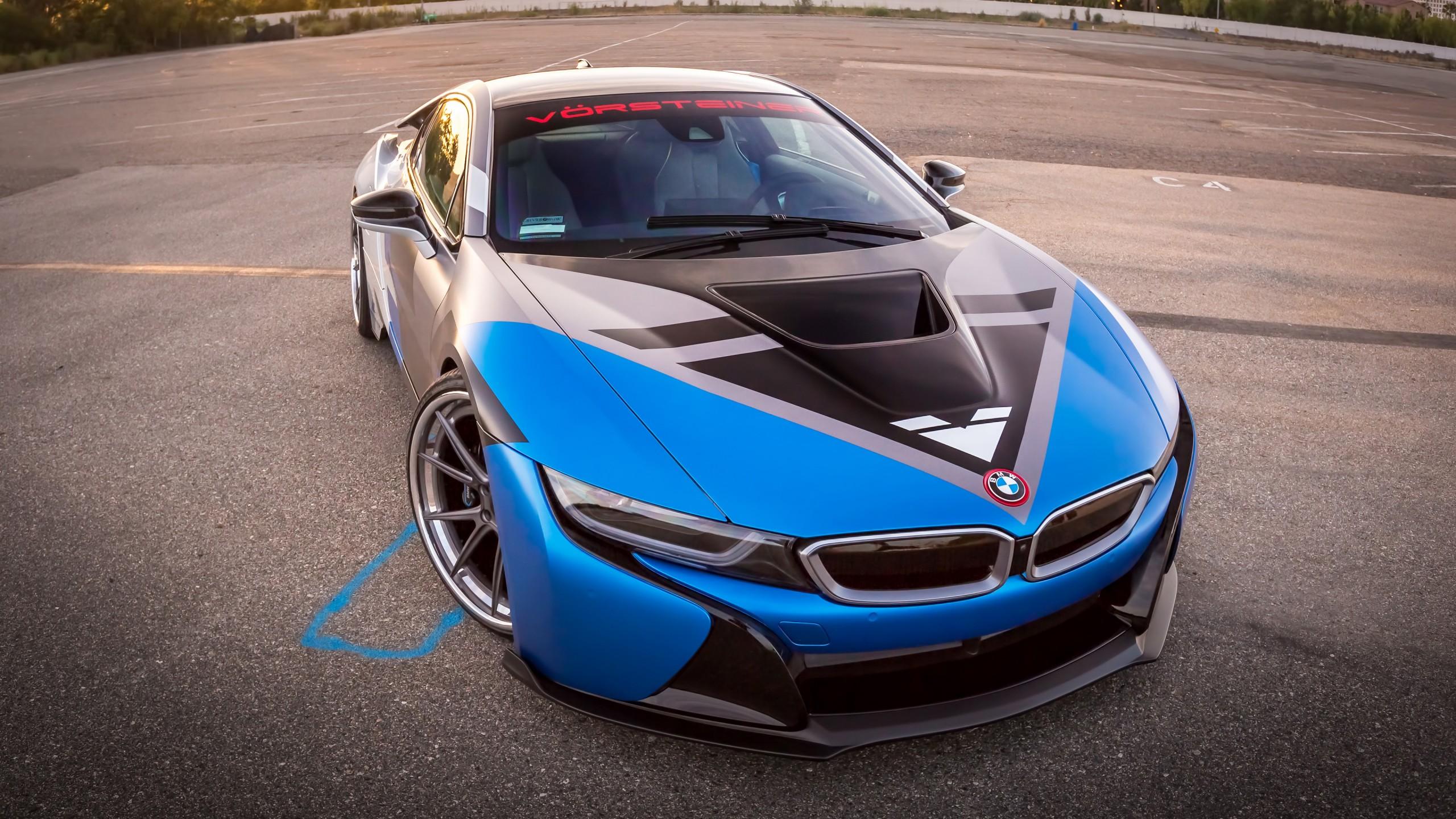Bmw I8 Car Concept 4k Hd Desktop Wallpaper For 4k Ultra Hd: 4K Vorsteiner BMW I8 VR E Wallpaper