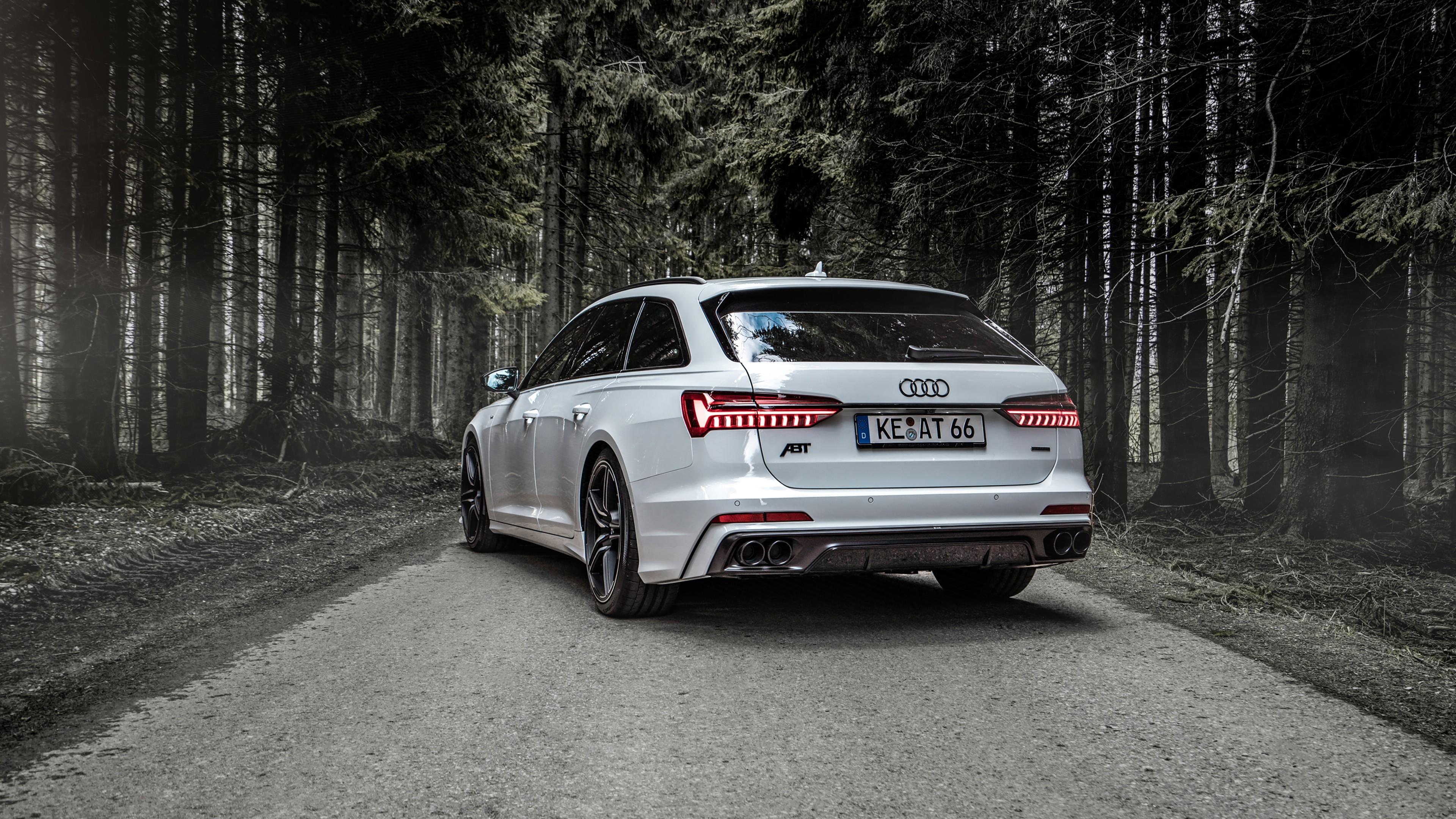Abt Audi A6 3 0 Tdi Avant 2019 4k 2 Wallpaper Hd Car Wallpapers Id 13333