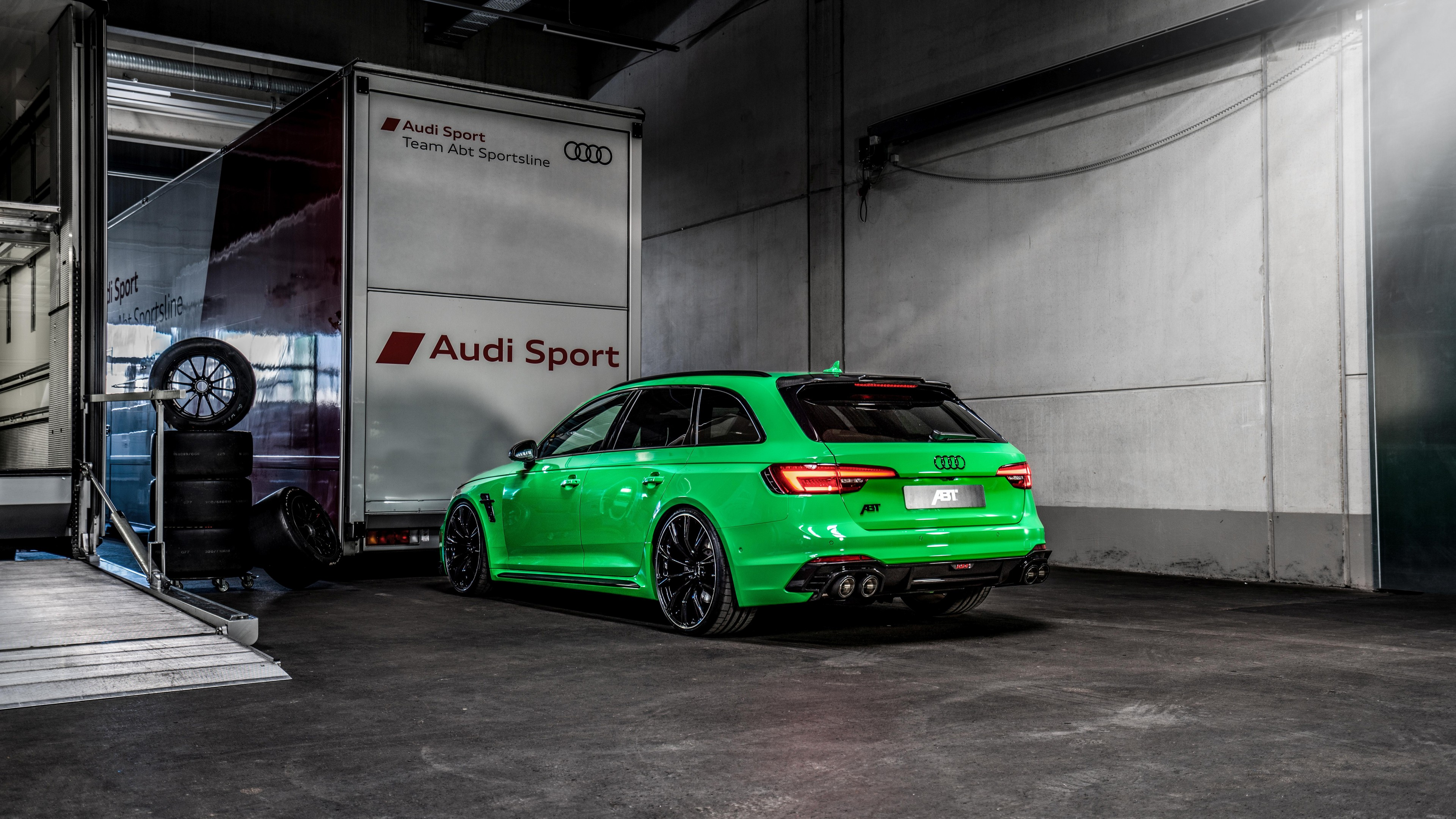Abt Audi Rs4 2019 4k 3 Wallpaper Hd Car Wallpapers Id