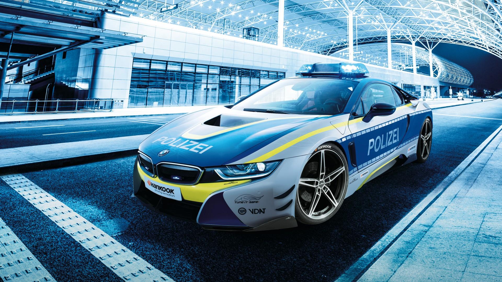 2015 BMW 750Li >> AC Schnitzer BMW i8 Polizei Tune it Safe Concept 2019 4K Wallpaper | HD Car Wallpapers | ID #11738