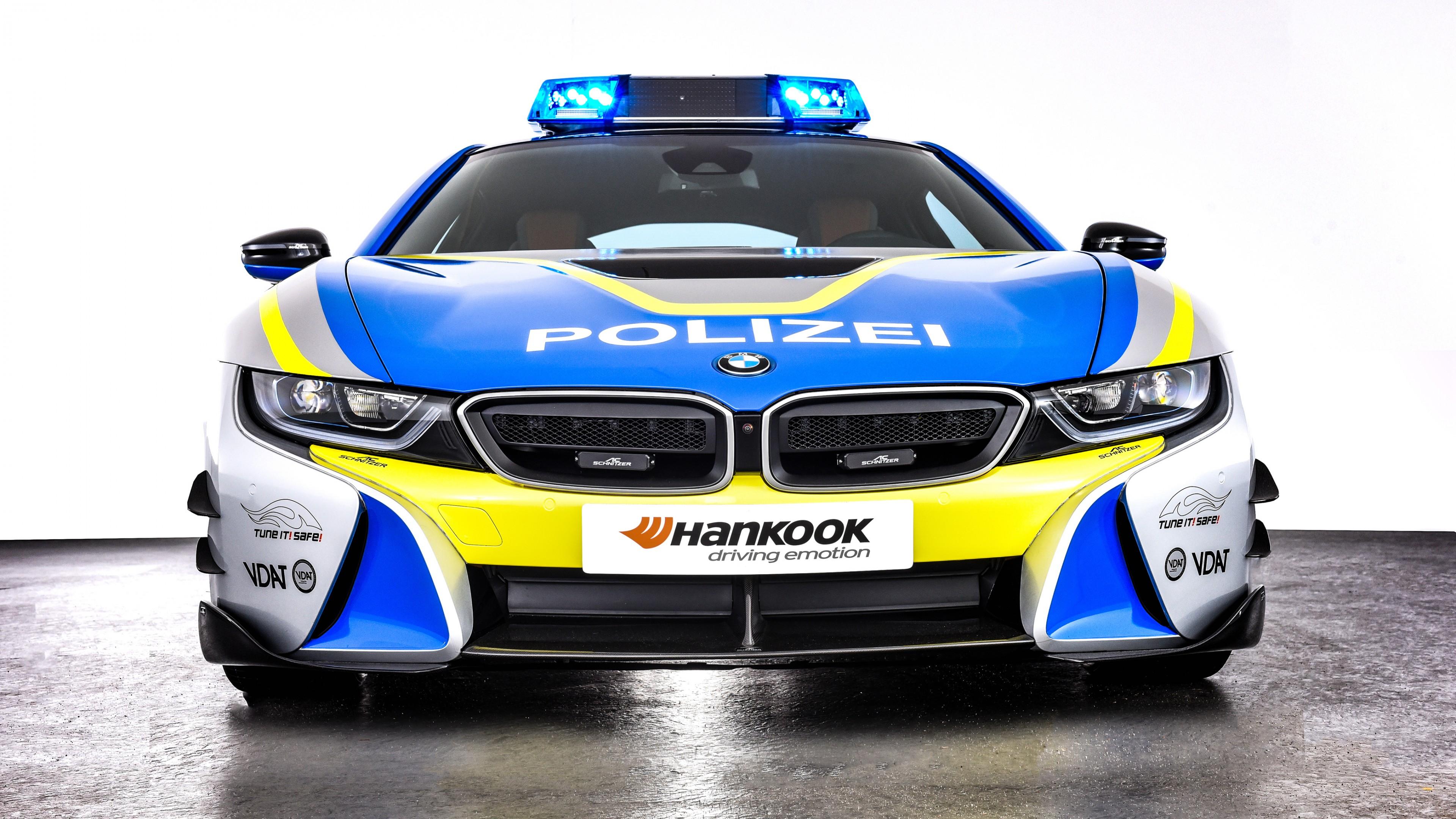 AC Schnitzer BMW i8 Polizei Tune it Safe Concept 2019 4K 2 Wallpaper
